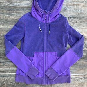 Lululemon Purple Zip Workout Sweater